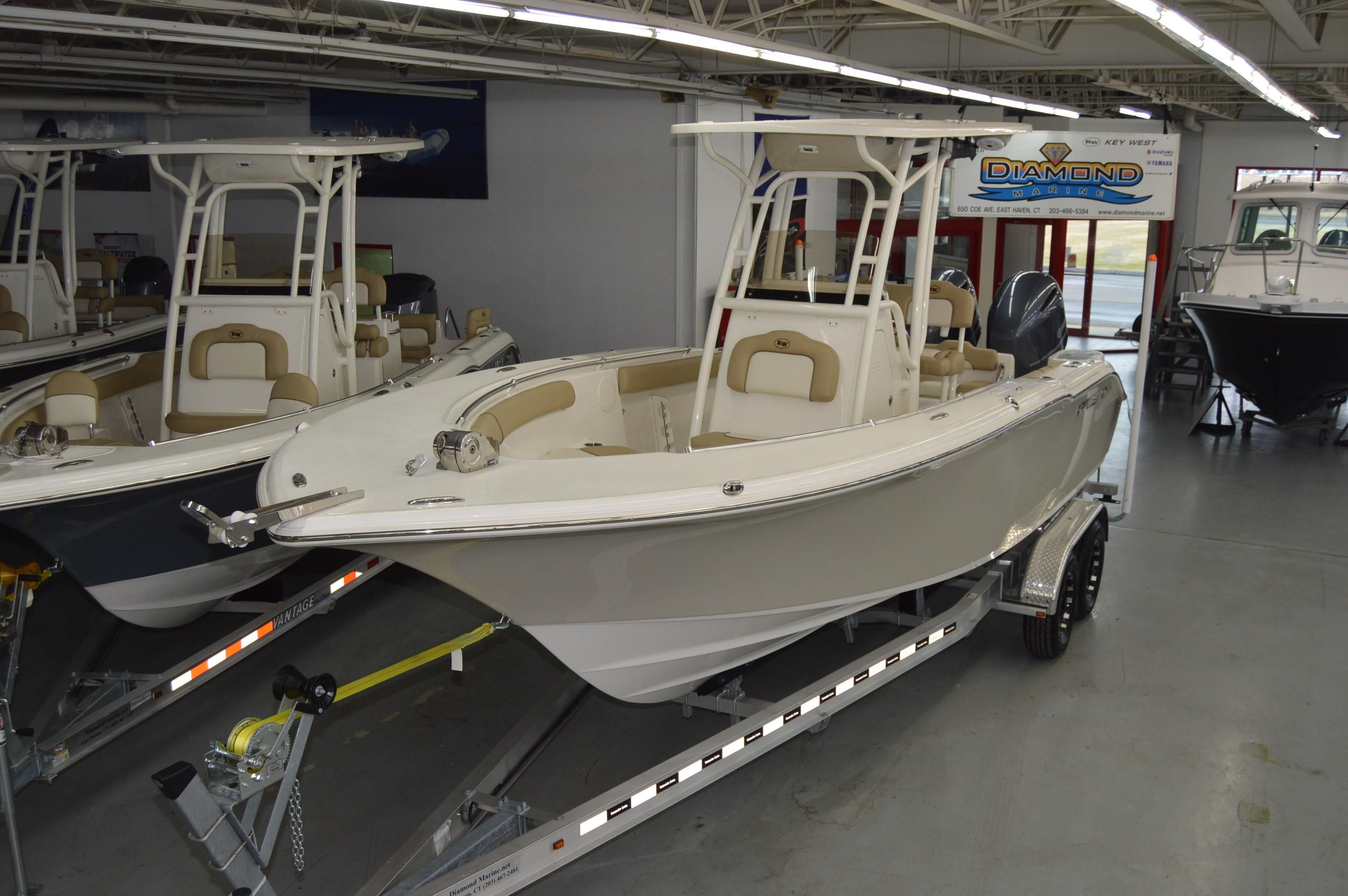 2018 Key West 244 Center Console Power Boat For Sale Www