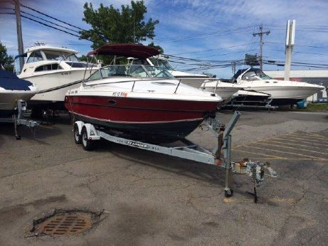 1990 Tiara 237SC Cuddy Cabin with Trailer