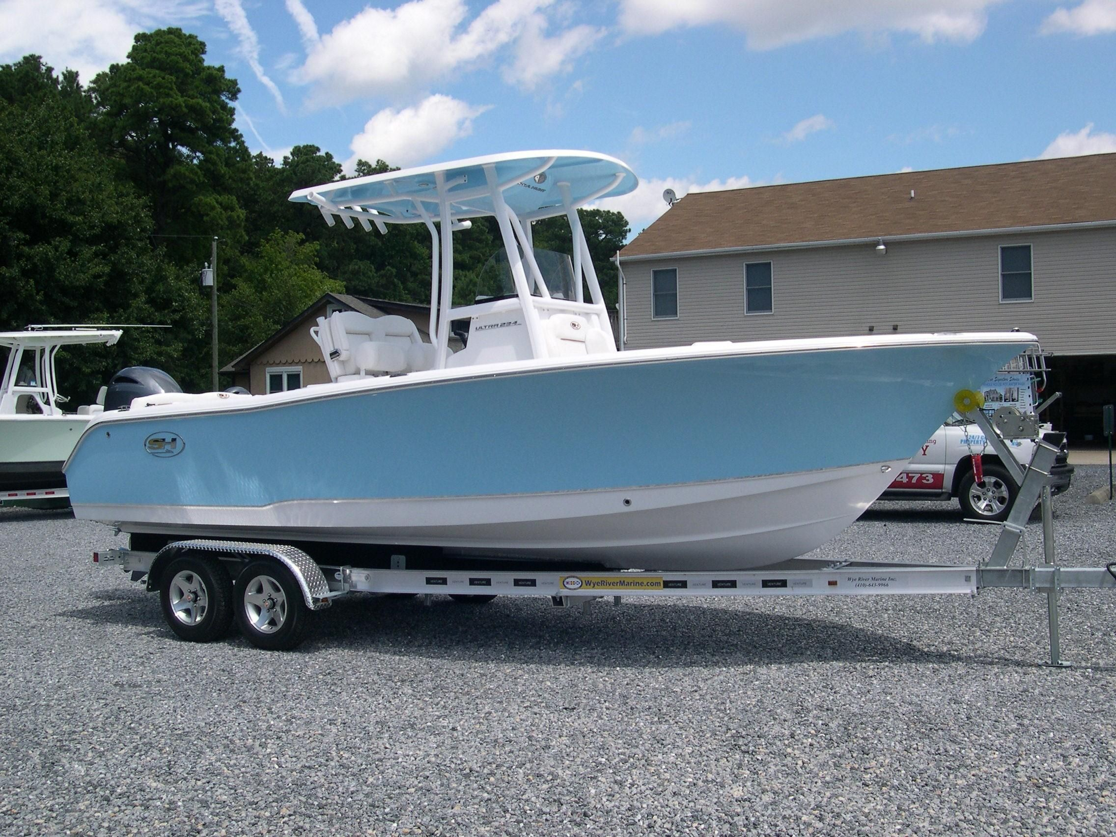 2019 Sea Hunt 234 Ultra Captains Chairs Power Boat For Sale -