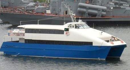 2011 Custom 93' Fast Ferry