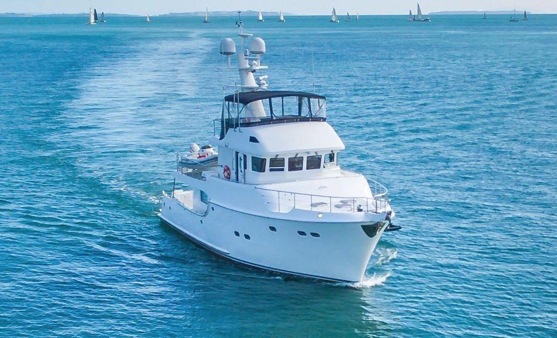 2009 nordhavn 60 power boat for sale for Outboard motors for sale nz