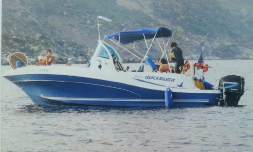 2005 Quicksilver Commander 800