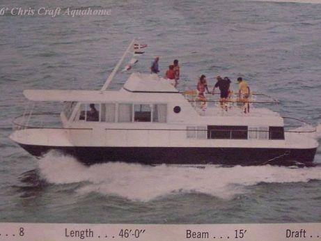 1969 Chris-Craft Houseboat