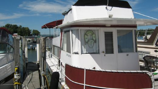 1970 Marinette 34 Houseboat
