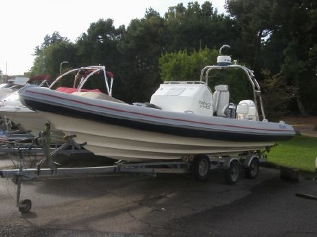 2005 Ring 750 RIB Johnson 200 4-stroke