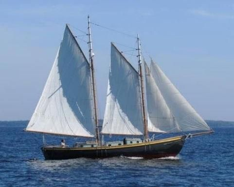 1982 Traditional William Hand Schooner Sail Boat For Sale