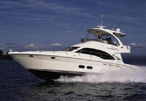 2009 Sea Ray 52 Sedan Bridge