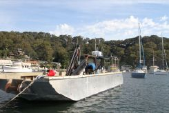 2012 Alucraft AMS Commercial barge