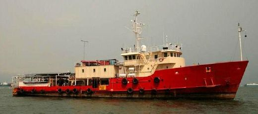 1972 Custom 168' Offshore Support Accommodations Vessel