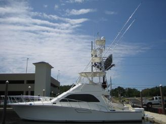 2001 Cabo Convertible with Tuna Tower
