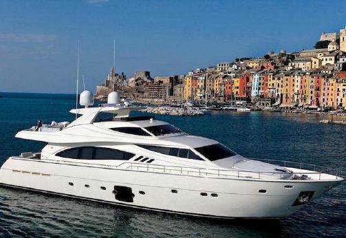 2006 Ferretti Yachts 881 HT