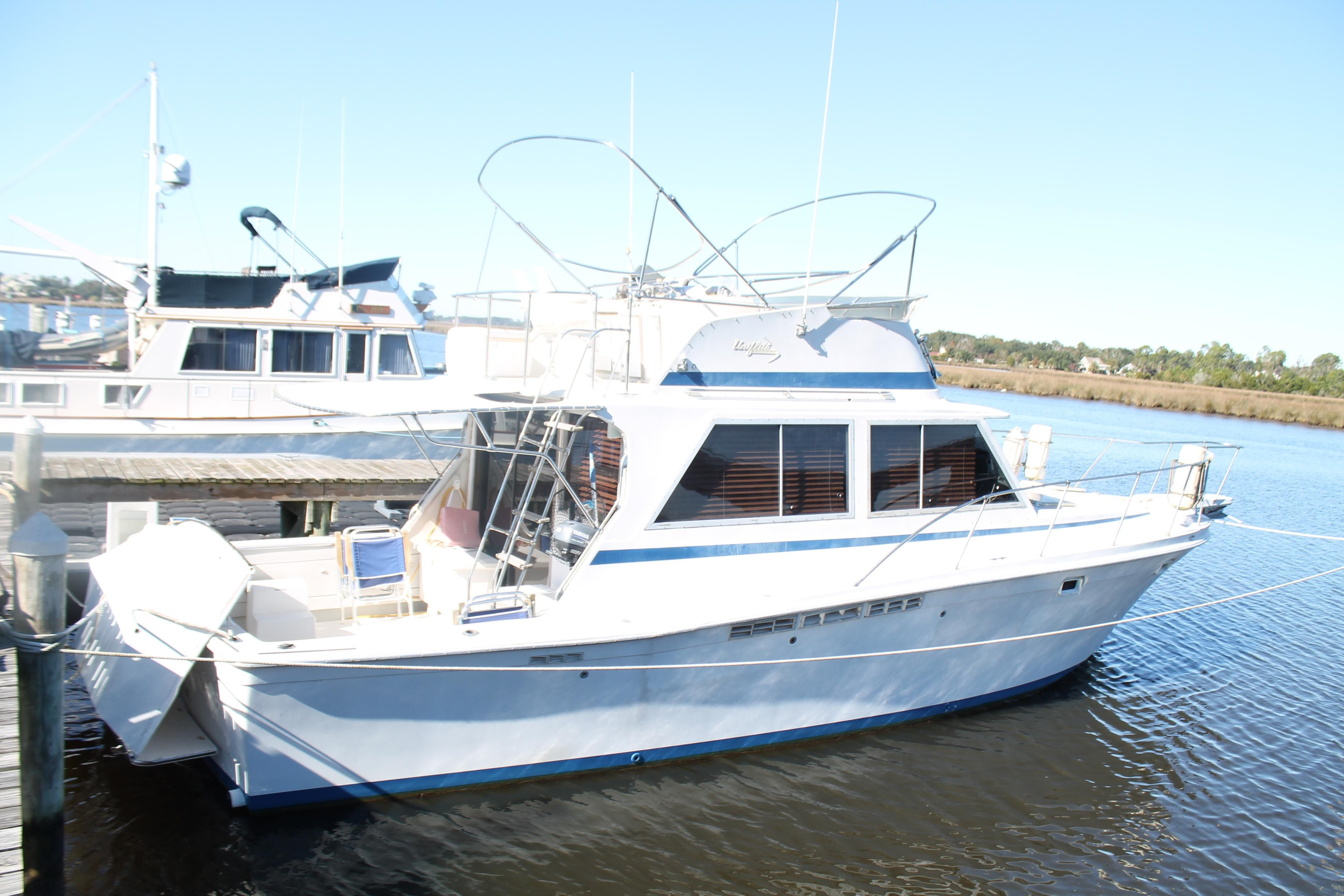 1982 uniflite 38 convertible power boat for sale www for Sport fishing boats for sale by owner