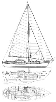 1979 Mao Ta Shipyard Ted Brewer Designed Oceanic 46