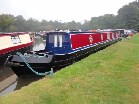 2001 Narrow Boat Ledgard Bridge Boat Co. Semi Trad. Stern