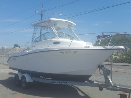 2002 Seaswirl 2101 Walkaround O/B