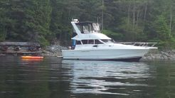 1996 Silverton Sedan With Boathouse