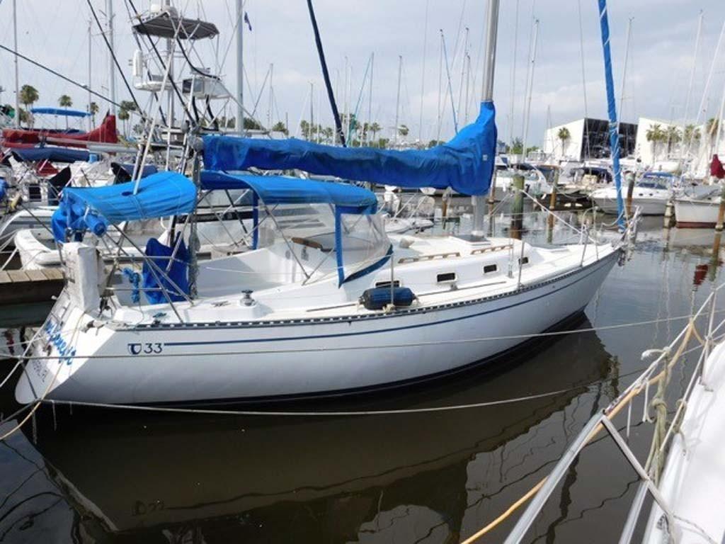 1986 Tartan Soverel 33 Sailboat Transport: 1980 Tartan Sloop Sail Boat For Sale