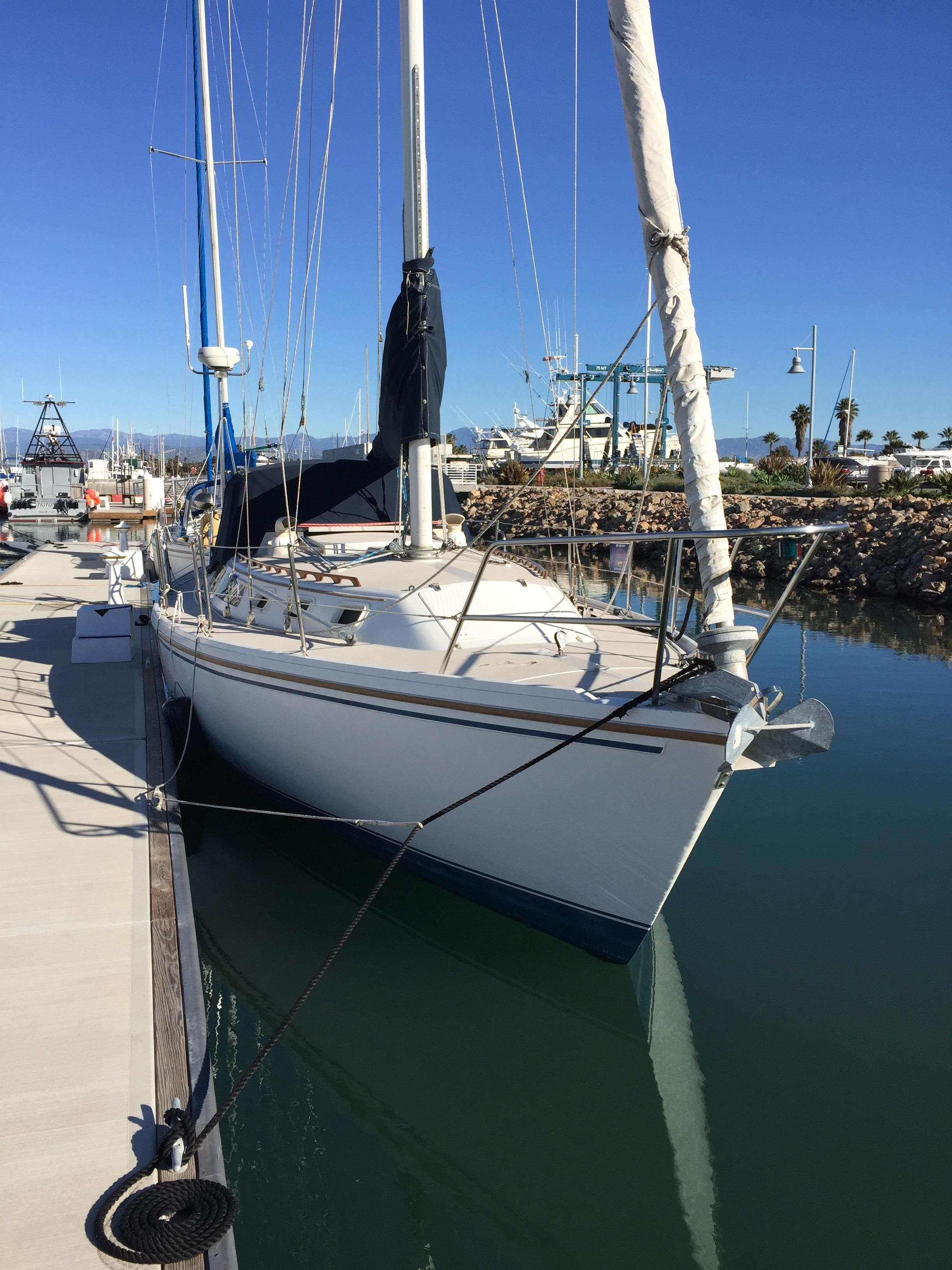 Sail Channel Islands Oxnard: 1987 Catalina 34 Sail Boat For Sale