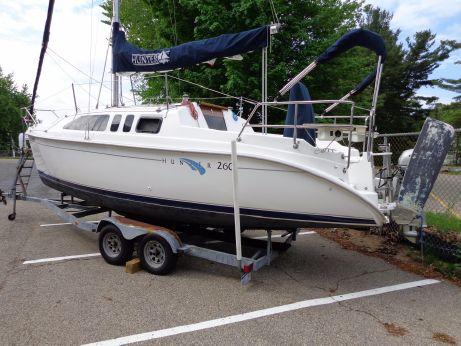2000 Hunter 260