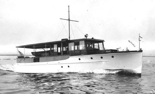 1929 Elco Flat Top Classic Motor Yacht