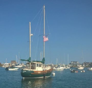 1976 Fisher 30 Ketch
