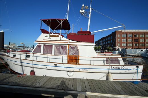 1989 Albin 40 Trawler Twin Lehmans