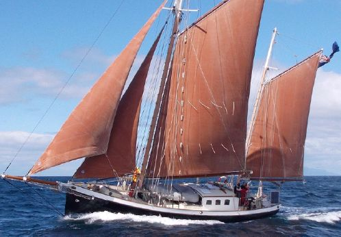 1997 Steel Gaff Ketch