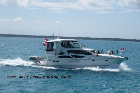 2007 Cruisers 415 Express Motoryacht  FRESH WATER BOAT