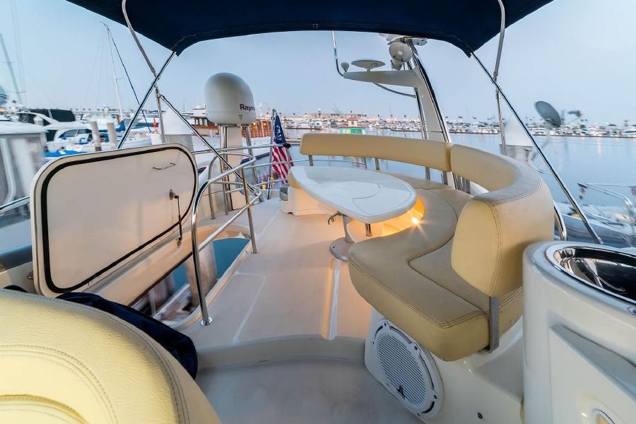 2008 Cranchi Atlantique 50 Yacht Flybridge Layout