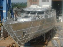 2015 Aluminium 45m M/s Hull Project S/1505.3