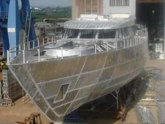 2015 Aluminium 45m M/s Hull Project S/1505.3