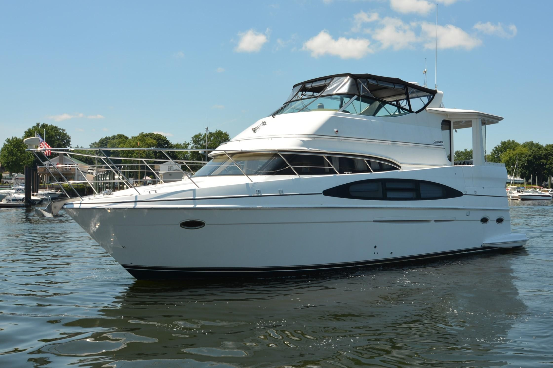 2002 carver 466 motor yacht power boat for sale www for 50 ft motor yachts for sale