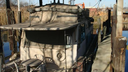 1971 Burns Craft 35 Houseboat