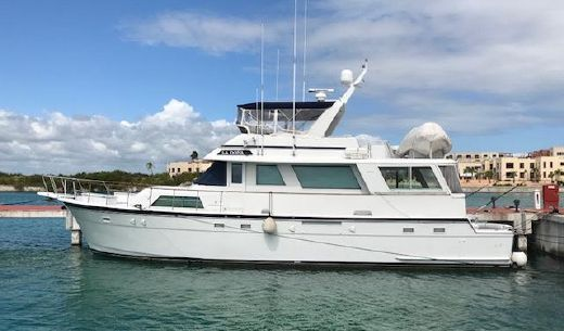 1982 Hatteras Cockpit Motor Yacht