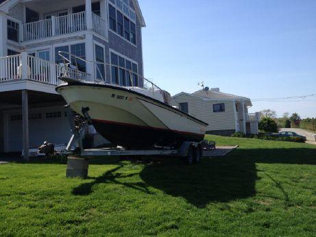 1987 Boston Whaler Cuddy Console