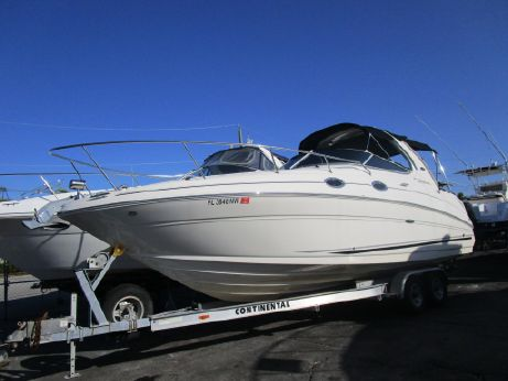 2008 Sea Ray 28 sundancer