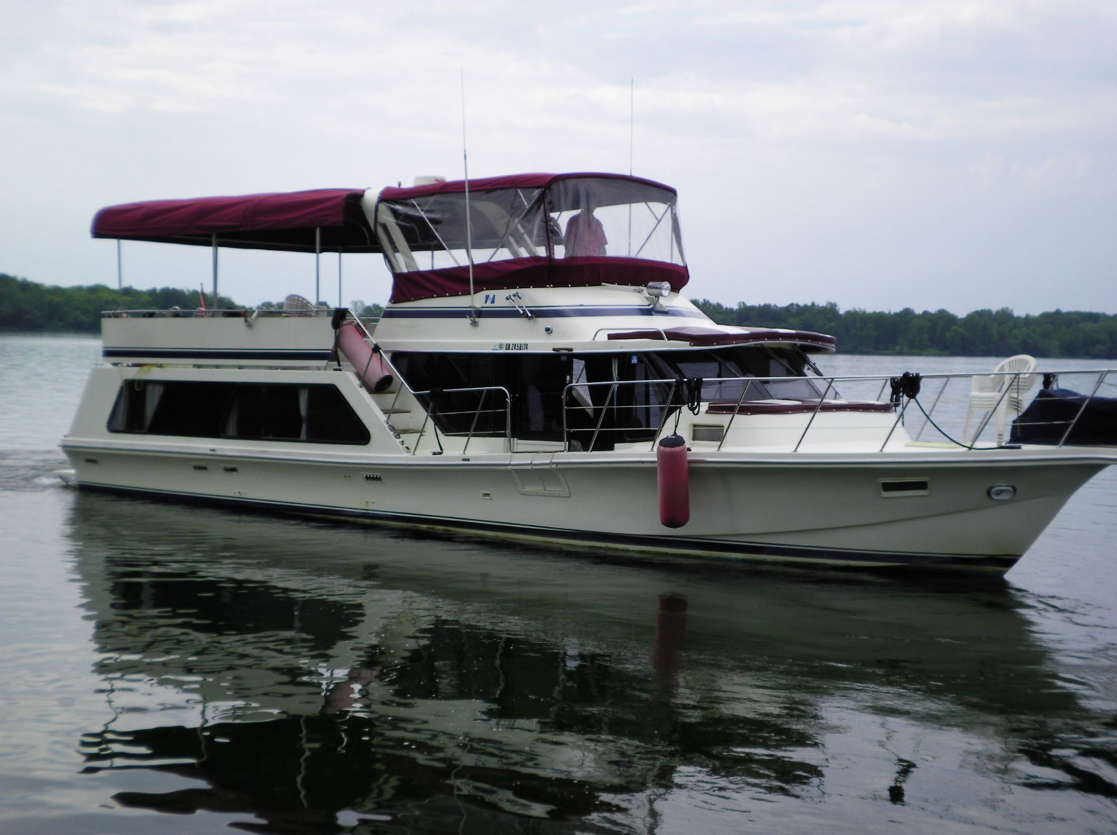 1986 Bluewater 51 Coastal Cruiser Power New And Used Boats