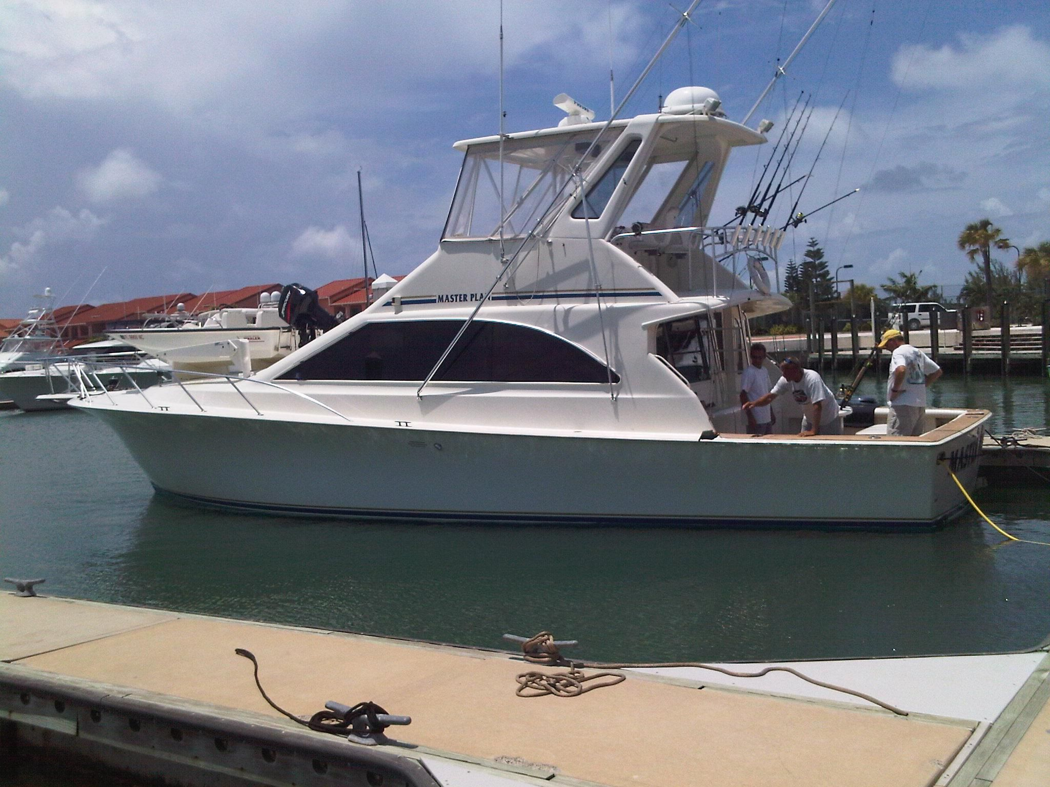 1997 ocean yachts 48 super sport power boat for sale www for Ocean yachts 48 motor yacht for sale
