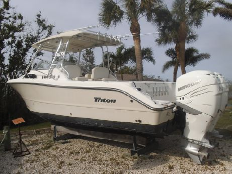 2008 Triton 301 XD With 2018 Verados with Warranty