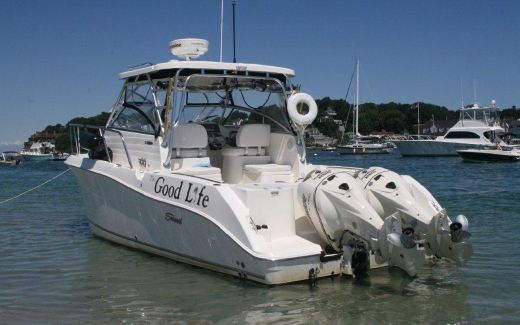 2008 Seaswirl Striper 2901 Walkaround O/B