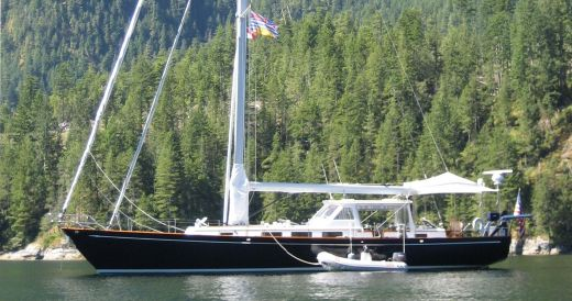 1984 Custom Nish/wylie 65 Pilothouse Cutter
