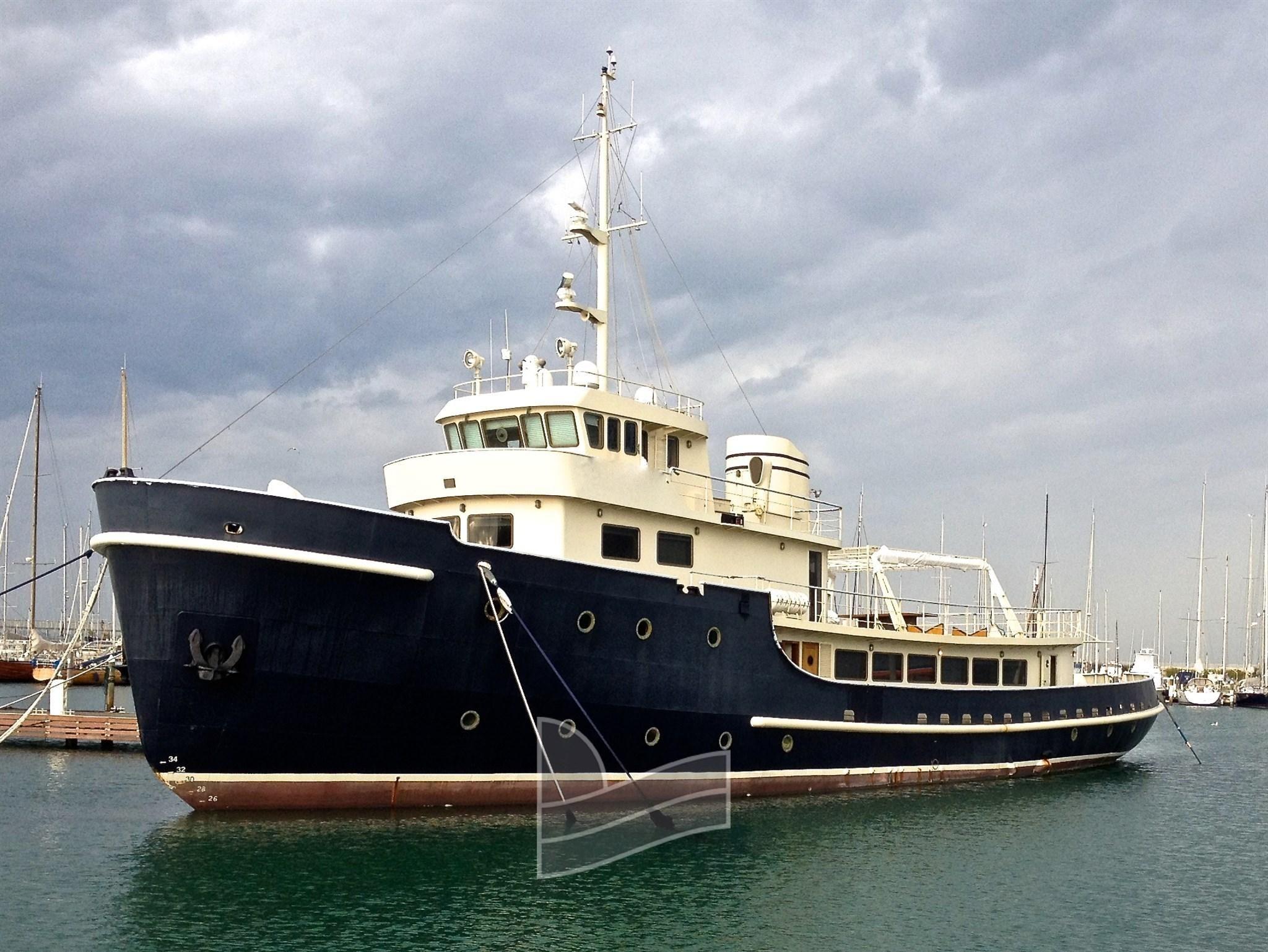 1957 Custom Cantiere Santiebul Navetta Power Boat For Sale