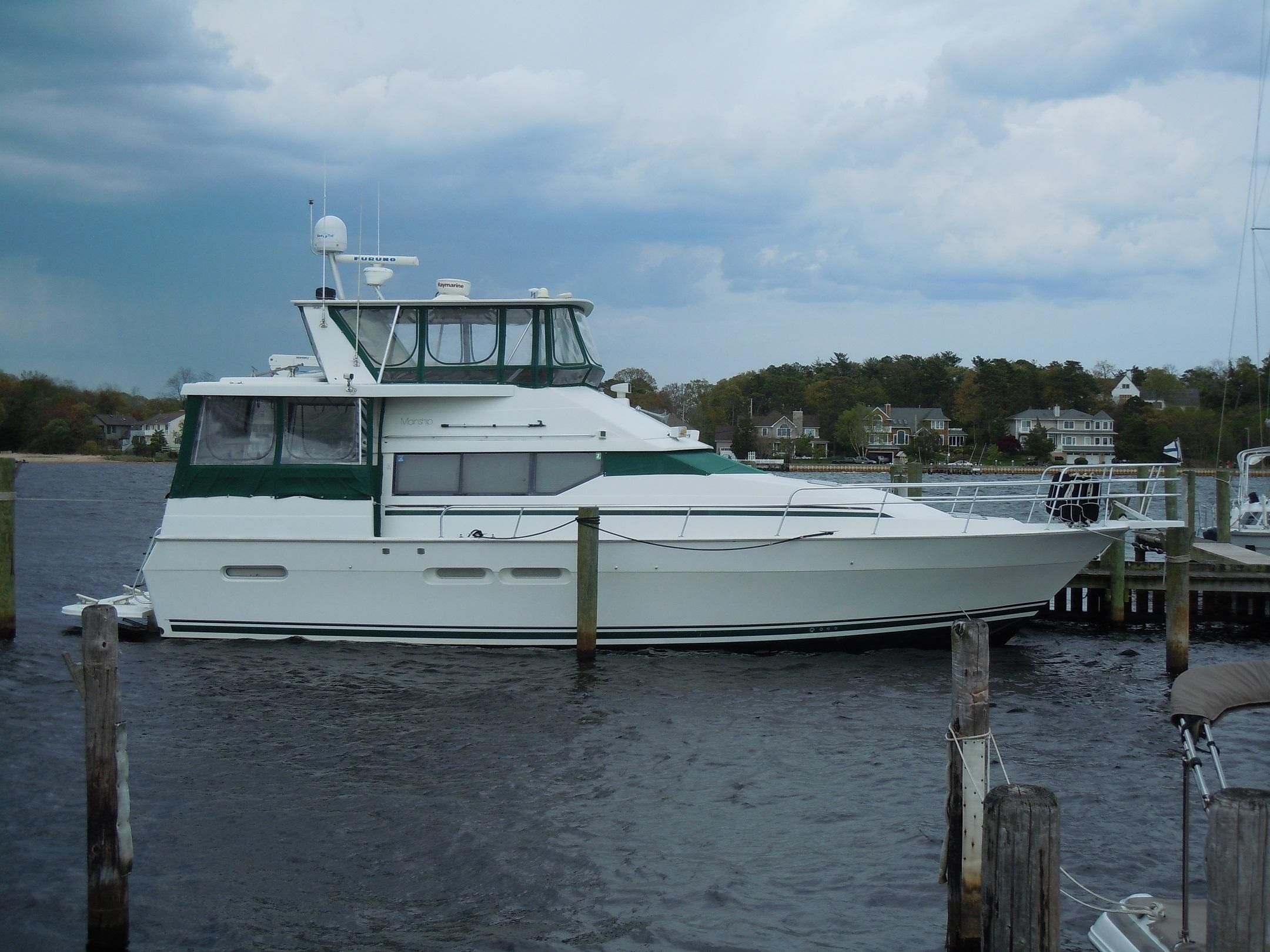 47 Atlantic Motor Vessel: 1995 Mainship 47 Motor Yacht Power Boat For Sale
