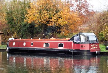 2014 Wide Beam Narrowboat 60 x 10 by Collingwood Boats