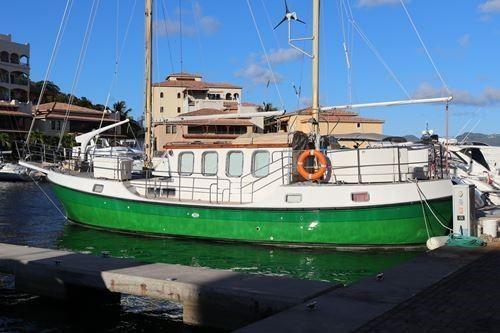 1980 Motorsailer Stangate Atlas Rogger 50 Sail Boat For Sale