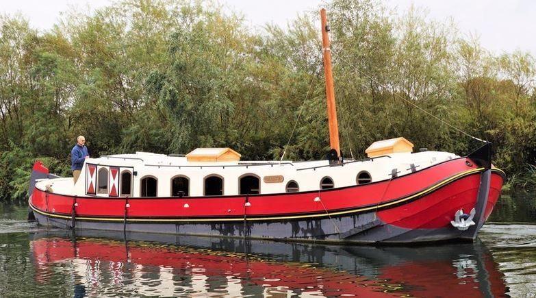 2011 sirius euroship barge 50 tjalk