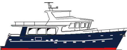2018 Ruby Yachts Passagemaker 65 Aft Cabin