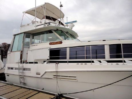 1981 Bertram 46 Flybridge Motor Yacht