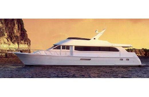 2005 Hatteras 75 Sport Deck Motor Yacht