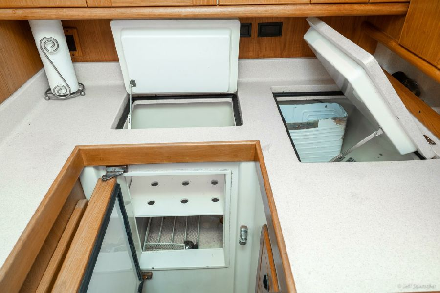 Catalina 470 Galley Refrigerators